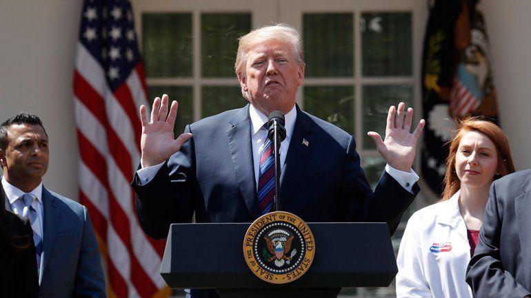 Trump anuló las sanciones contra Corea del Norte