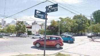 peligro: piden un semaforo urgente en la calle talero
