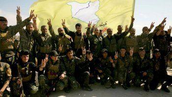 las fuerzas sirias derrotaron al estado islamico