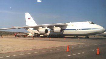 dos aviones de la fuerza aerea rusa estan en venezuela