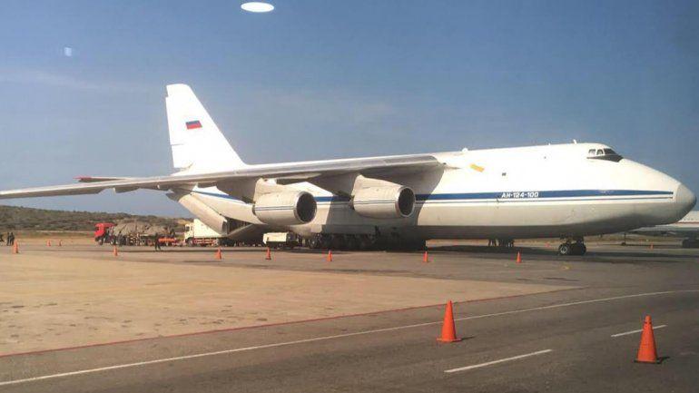 Dos aviones de la fuerza aérea rusa están en Venezuela