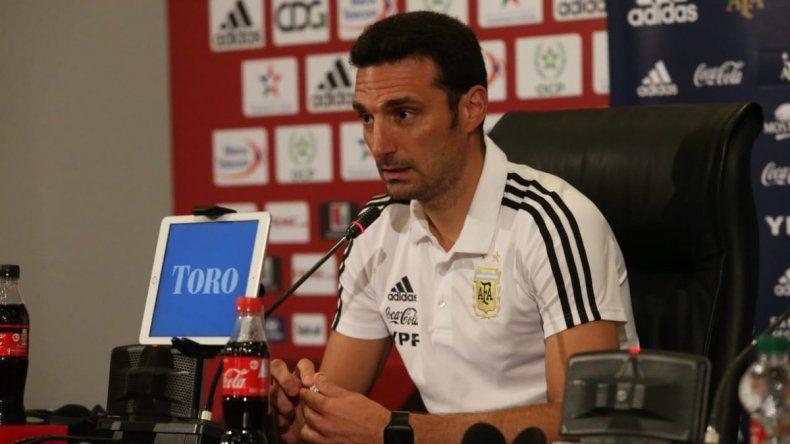Scaloni confirmó la formación de Argentina para el amistoso ante Marruecos