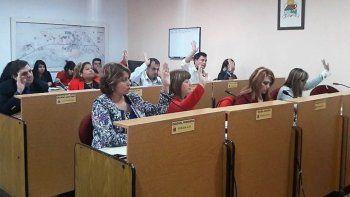 plottier sumo electores para un concejo con 13 bancas