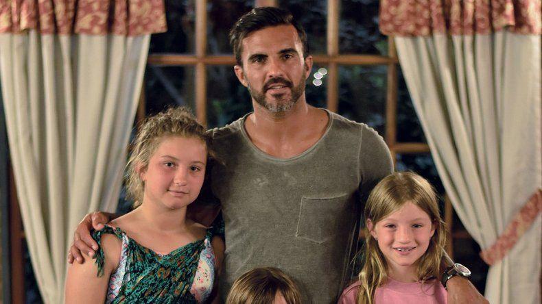 Cubero con el corazón roto por sus hijas