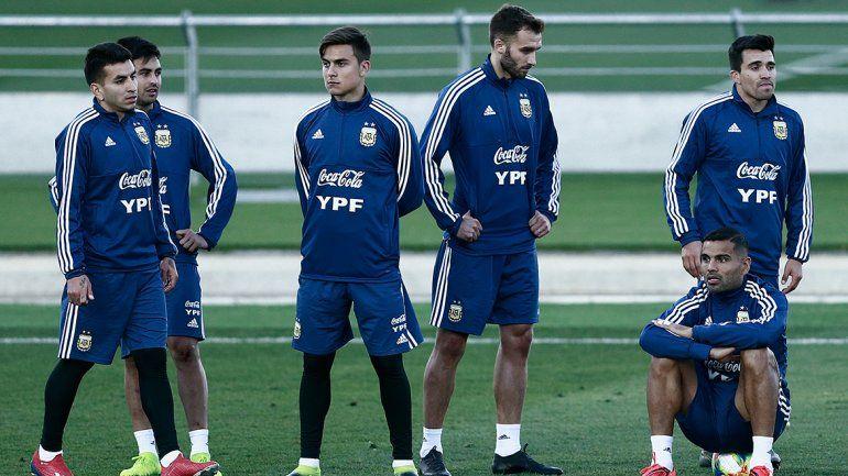 Con el Huevo de titular, la Selección ya enfrenta a Marruecos