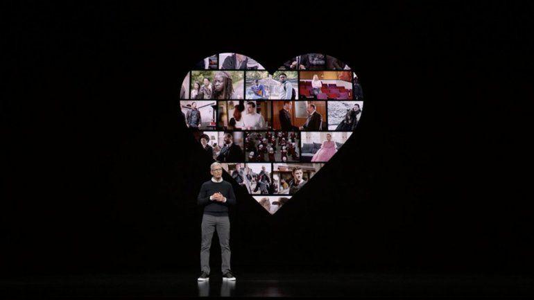 Apple presentó su servicio para competir con Netflix