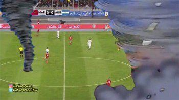 los memes que dejo el partido de argentina y marruecos