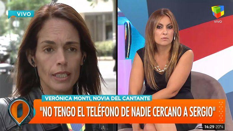 La pelea en vivo de Marcela Tauro y la novia de Sergio Denis: Te gusta más la cámara que saber cómo está él
