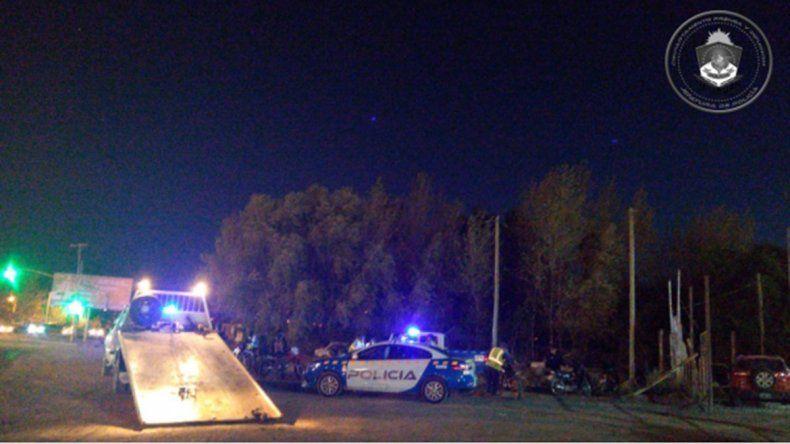 En un operativo de tránsito capturaron a un prófugo y dieron con una desaparecida