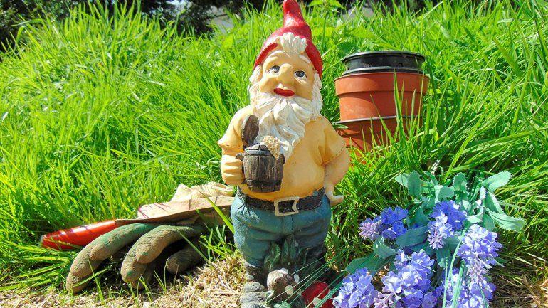 Le robaron el enano de jard n pero no quiso denunciar for Enano jardin