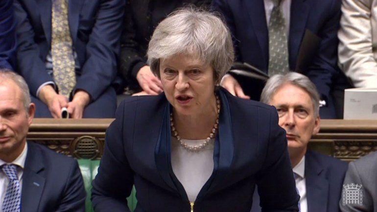 Theresa May hoy jugará su última carta en el Brexit