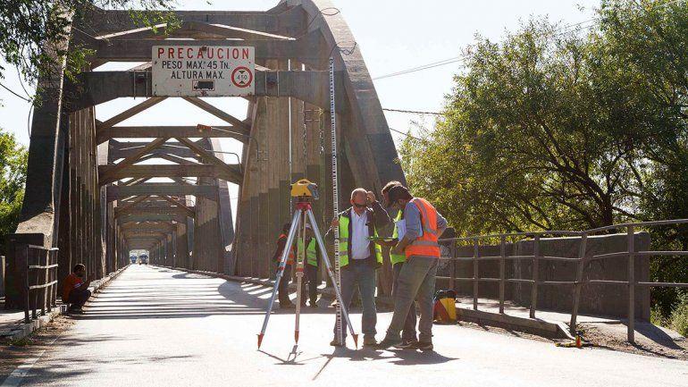 El corte en el puente  duró menos de lo que estaba previsto