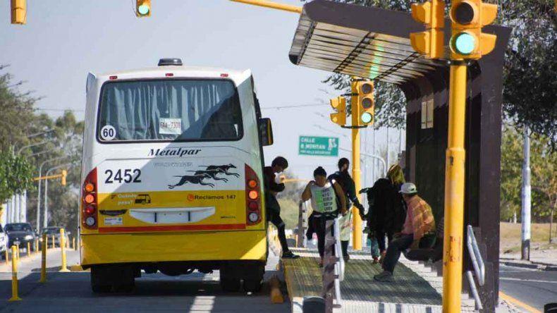 Los colectivos entrarán a Cuenca XV con custodia policial