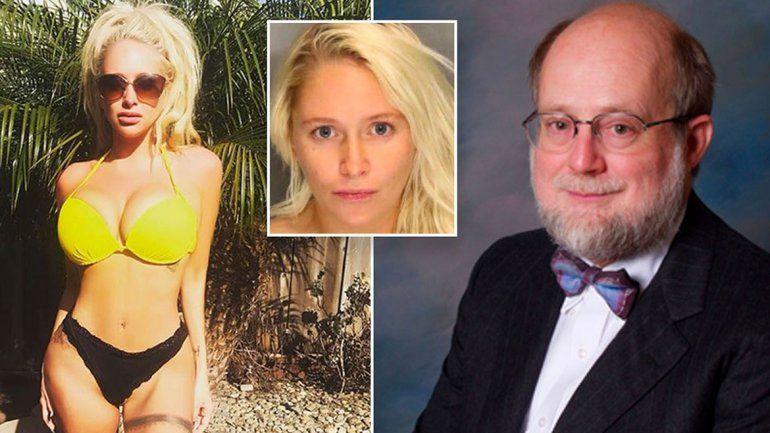 Chica Playboy de 25 años mató a un psiquiatra de 71