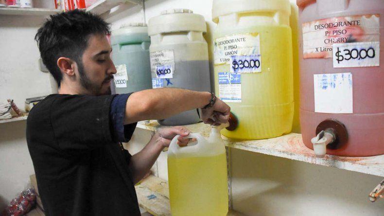 Los todo suelto le ahorran 65% a la limpieza de la casa