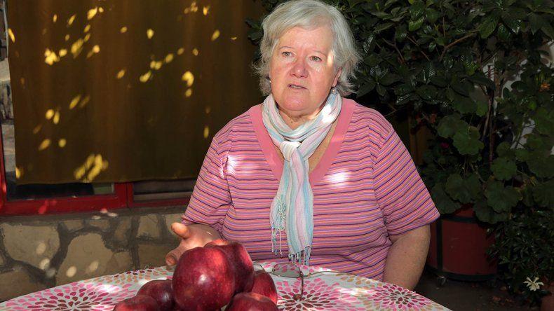No va más: otra chacra ya no produce más manzanas