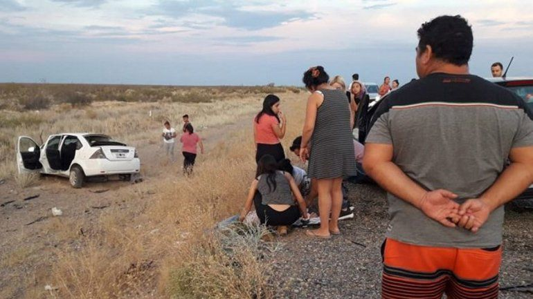 Tragedia en la Ruta 22: cuatro muertos en un tremendo choque frontal