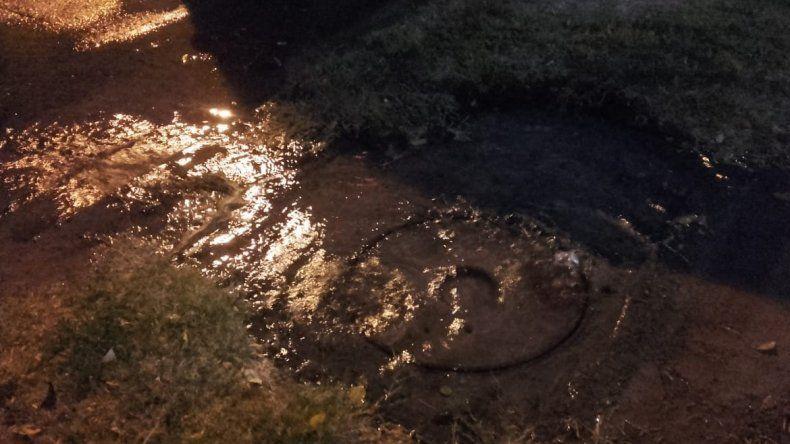 EPAS denunció que el río de agua y cloaca fue obra de la Muni