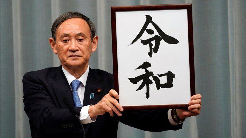 Japón eligió nombre para su nueva era: se llamará Reiwa