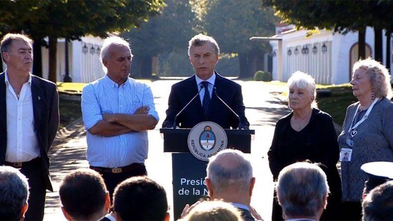 Macri: El reclamo por Malvinas es legítimo e irrenunciable