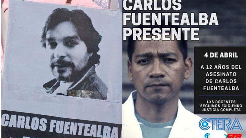 Polémica por una campaña de los gremios docentes para recordar a Fuentealba