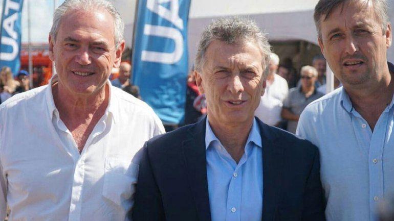 Macri viajó a Entre Ríos para apoyar a un radical