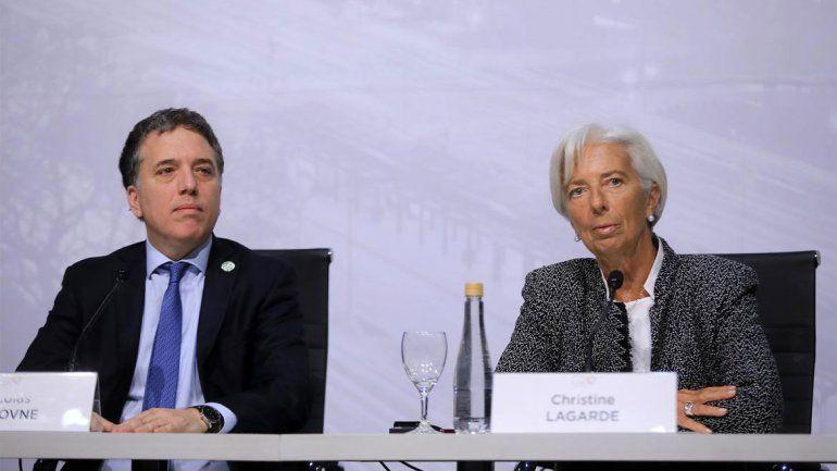 El Gobierno tuvo que excusarse frente al FMI