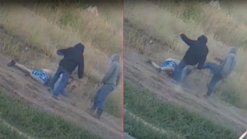 Terrible: golpearon violentamente a un desocupado, en un piquete en el Chañar