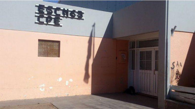 Autoridades de la escuela 63 de Cutral Co exigen políticas por hechos violentos