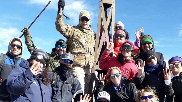 Homenajearon a héroes de Malvinas en el Copahue