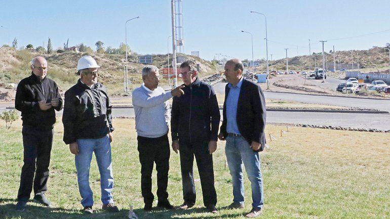 Pechi admite molestias de la gente por las obras del nodo vial