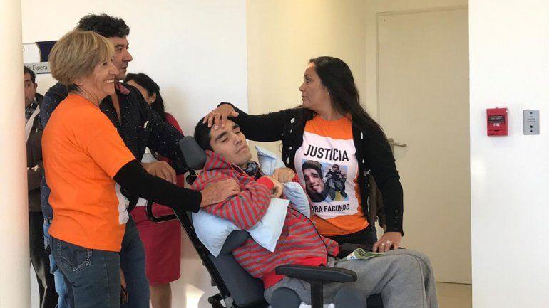 Facundo Agüero dejará el hospital para seguir su rehabilitación en una casa