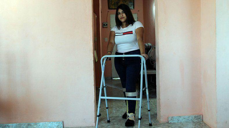 Milagro: estaba parapléjica y puede volver a caminar