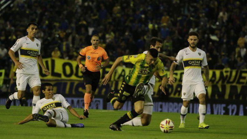 Boca empató 1 a 1 con Aldosivi y terminó tercero en la Superliga