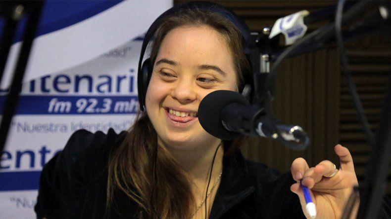 El gran sueño de Martina: ser periodista