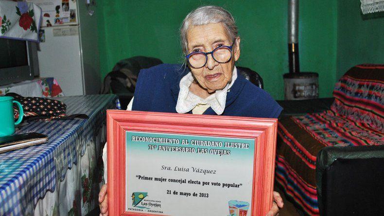 Una mujer política en tiempos difíciles y admirada por don Felipe