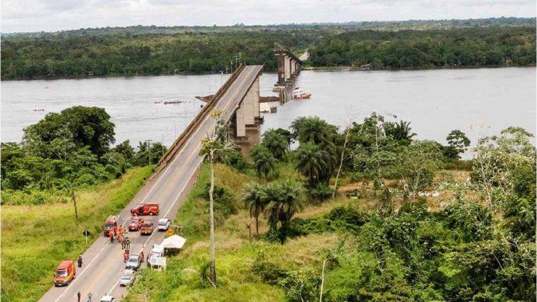 Tragedia en un puente brasileño