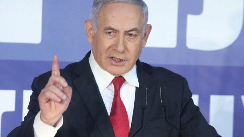 Netanyahu dice que anexionará parte de Palestina