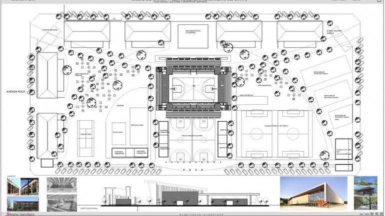 Fabián Borro se interiorizó del proyecto de la Ciudad Deportiva de Español