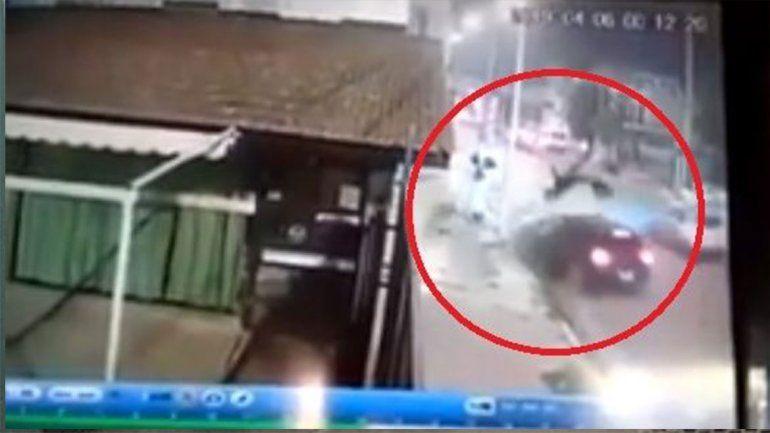 Corría una picada en contramano, mató a un recolector y se burló en las redes: Son negritos cabeza