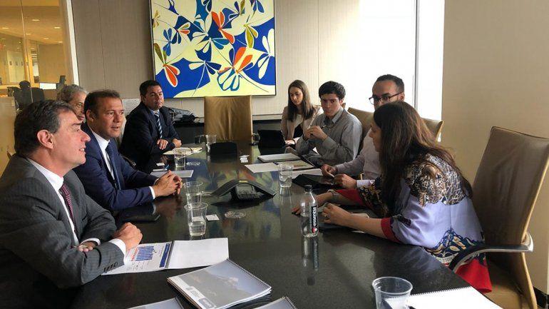 Gutiérrez estuvo en Nueva York con grupos inversores para exponer el desarrollo de Vaca Muerta