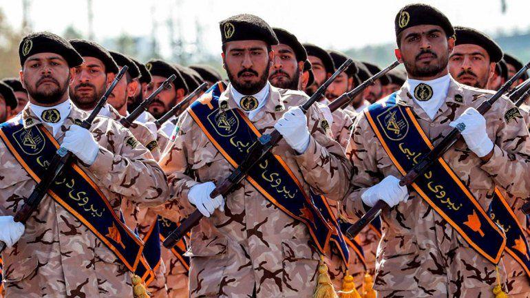 Trump declaró grupo terrorista a la gran fuerza militar de Irán
