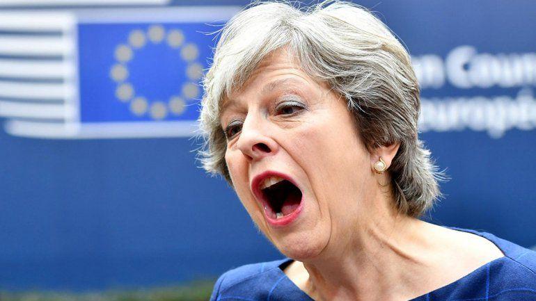 May: Dejar la UE con un acuerdo o no dejarla