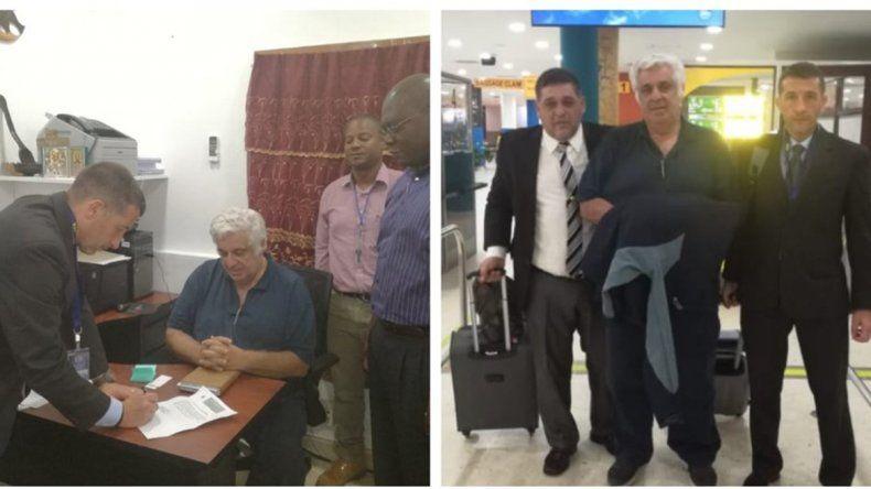 Trasladaron a Samid de Belice hacia Argentina