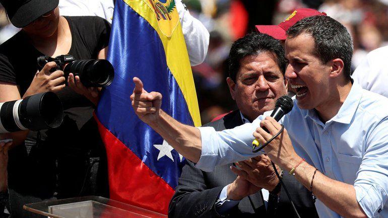 Juan Guaidó llamó a la rebelión