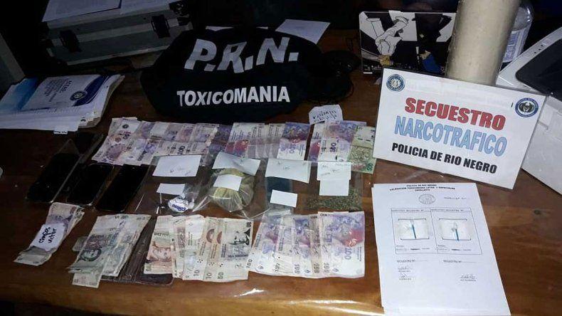 Desbarataron un kiosco narco en el Anai Mapu