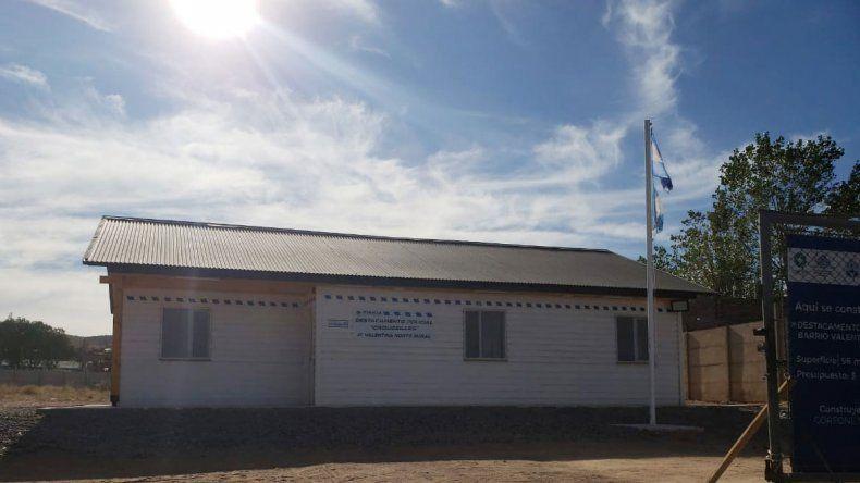 Exigen que funcione el destacamento de Valentina Norte Rural