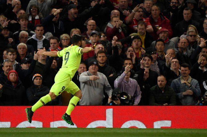 Barcelona pegó primero y le ganó a Manchester United