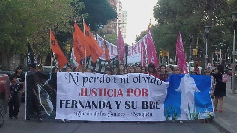 Marcharon para reclamar la condena efectiva de los asesinos de Fernanda Pereyra