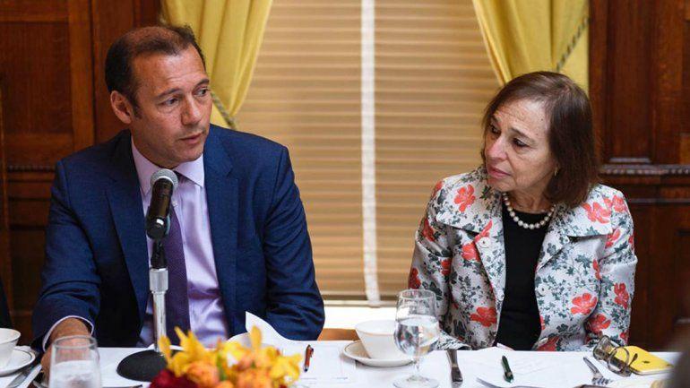 Gutiérrez expuso en busca de inversores en EE.UU.